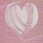 БУСИНЫ, розовые №001, круглые, 4mm, низка