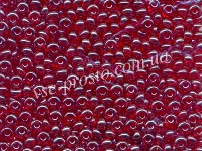 Drops 96070, красный (глазурованный), 5/0