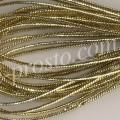 ШНУР золотистый люрекс, 1-2mm, моток 10м