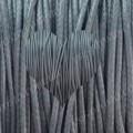 ШНУР ХЛОПКОВЫЙ ВОЩЕНЫЙ, с восковой оплеткой, серый, 1mm