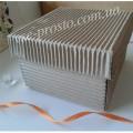 Коробка подарочная, гофра премиум, 90х90х50мм
