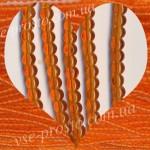 БУСИНЫ оранжевые №028, круглые, 4mm, низка
