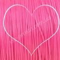 ШНУР ХЛОПКОВЫЙ ВОЩЕНЫЙ, с восковой оплеткой, ярко-розовый, 1mm