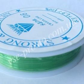 СПАНДЕКС зеленый, (0,6 mm)