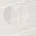 БУСИНЫ, белые полупрозрачные №031, круглые, 4mm, низка
